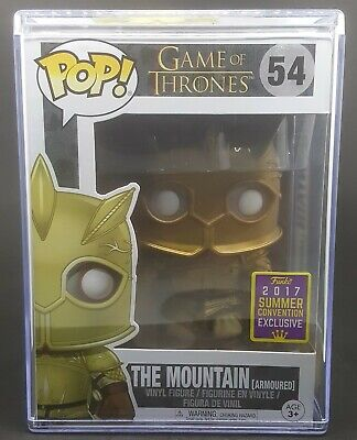 Funko Pop + Pop Stack! Game of Thrones #54 - The Mountain (SDCC)