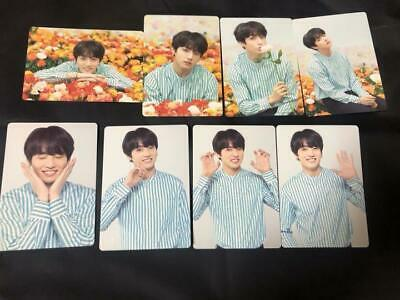 """BTS World T """"LOVE YOURSELF"""" Japan- Official Mini Photocard :Jungkook -Full Set 8"""