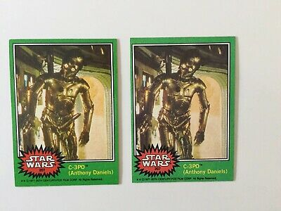 Rare Star Wars C-3PO (X-Rated Error) Topps Trading Card #207