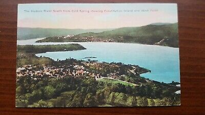 Postcard The Hudson River Constitution Island and West Point NY Unused Unposted