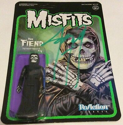 Jerry Only Signed The Fiend The Misfits Action Figure Nyc 7/11/19 +2 Photos