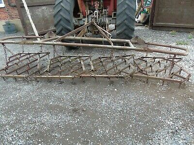 12 ft Folding Drag / Field Harrows