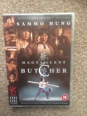 The Magnificent Butcher DVD Hong Kong Legends