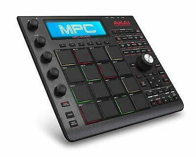 Akai Professional MPC Studio Black Music Production Controller with 7+GB Sound