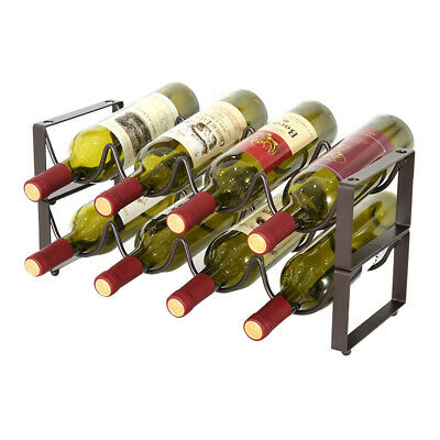 Wave Wrought iron wine rack decoration European creative simple wine bottle rack
