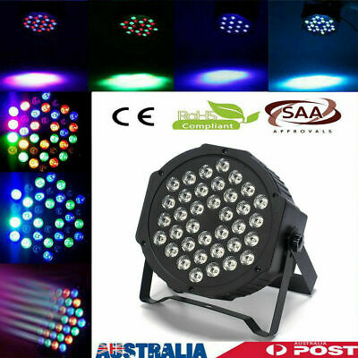 LED 36 Flat Par Lights RGB Lamp for Club DJ Party Stage Dmx512 Control KTV Party