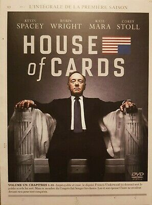 "Coffret 4 DVD "" HOUSE OF CARDS - INTEGRALE SAISON 1 "" - Avec Kevin SPACEY"