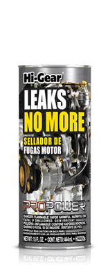 Hi Gear Leaks No More (Stops Engine Oil Leaks) HG2235 Made In USA 444 ml