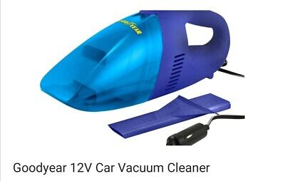 car vacuum cleaner 12V Goodyear BRAND NEW portable lightweight