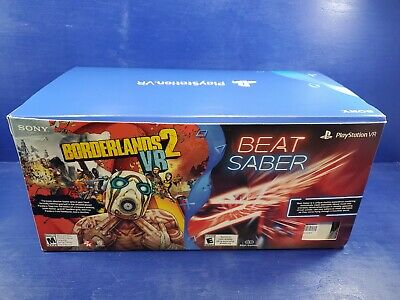 Sony PlayStation VR - Borderlands 2 and Beat Saber VR emty Box and all Packaging