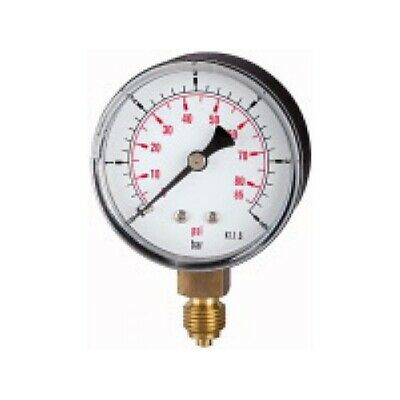 PRESSURE LINE Standardmanometer G 1/4 senkr.  50 mm  0-10 bar   106-KDE