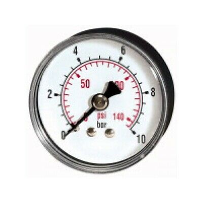 PRESSURE LINE Standardmanometer G 1/4 rücks.  63 mm 0-1 bar   212-DE