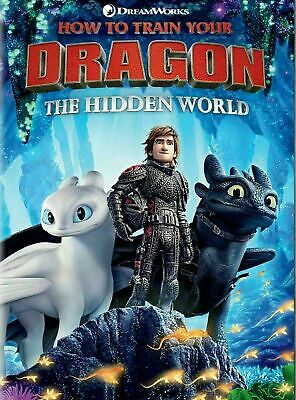 How to Train Your Dragon: The Hidden World (DVD, 2019) Brand New!