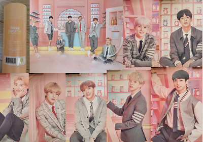 BTS Happy Ever After 4th Muster Official Poster Jungkook V Jimin RM Suga J-Hope