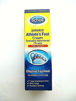 Scholl Advance Athletes Foot Cream 15 g Effective Treatment *new*
