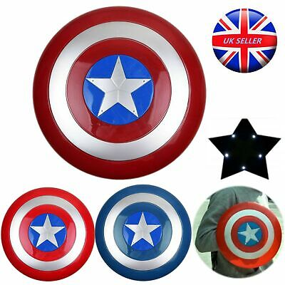 AVENGERS - SHIELD CAPTAIN AMERICA  with LED Light & Sound Kids Cosplay Toy Gift