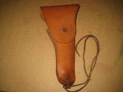 1944 Us Model 1916 Holster  & Tie Down For  Model 1911A1 Pistol - Boyt - Nos