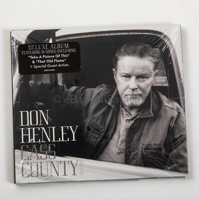 Don Henley Cass County Deluxe Album CD, NEW! SEALED!