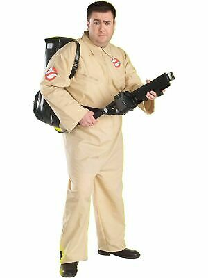 TV MOVIE COSTUME Deluxe PLUS SIZE GHOSTBUSTERS Adult Men's Halloween size 46-52
