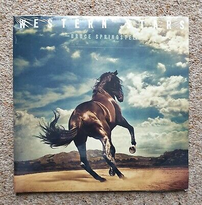 Bruce Springsteen Western Stars Limited Edition Exclusive Blue Vinyl