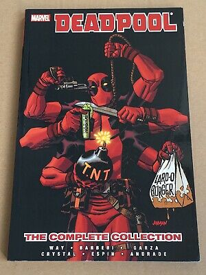 Deadpool By Daniel Way Complete Collection – Volume 4 - Graphic Novel Paperback