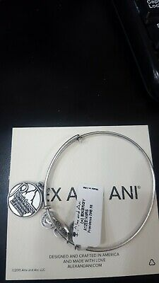 Authentic Alex And Ani Providence A12eb149rs Silver Tone