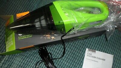 Halfords Car Caravan Handheld Portable 12V 4m Cable Vacuum Cleaner