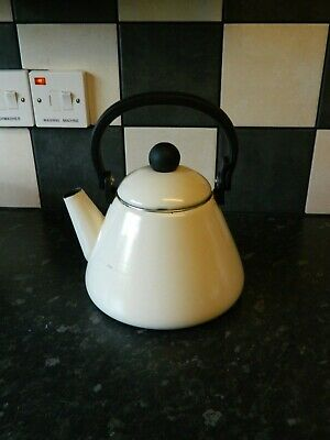 le creuset stove top kettle in cream