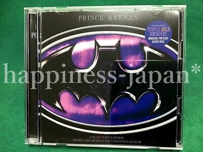 PRINCE BATMAN-COLLECTOR'S EDITION REMIX AND REMASTERS EXPANDED ALBUM 2 CDs Set