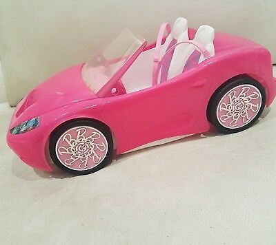 Barbie doll Convertible Pink Car excellent condition soft toy doll rare