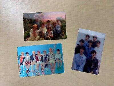 BTS Official LOVE YOURSELF Her Tear Answer 3D Lenticular Special Photocard NEW