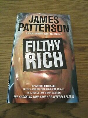 Filthy Rich, Unique Hardcover Autographed by James Patterson