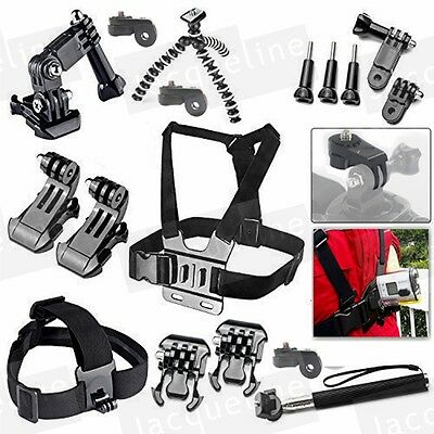 Ion Air Pro Accessories Set Mount for Sony Action cam HDR AS15 AS20 AS200V AS30V