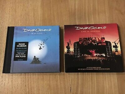 David Gilmour-Live In Gdansk Baltic Philharmonic Plus On An Island Cd Set
