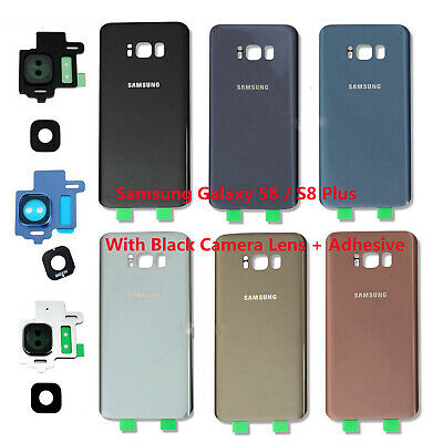 OEM Battery Cover Glass Housing Rear Back Door +Tape For Samsung Galaxy S8 / S8+