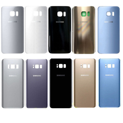 For Samsung Galaxy S7 / S7 Edge Battery Cover Back Glass Housing Door +IP68 Tape