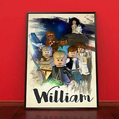 HARRY POTTER Lego Personalised Poster A4 Print Wall Art Fast Delivery ✔