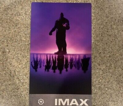 Avengers Endgame Week 1 IMAX Regal Movie Collectible Ticket!