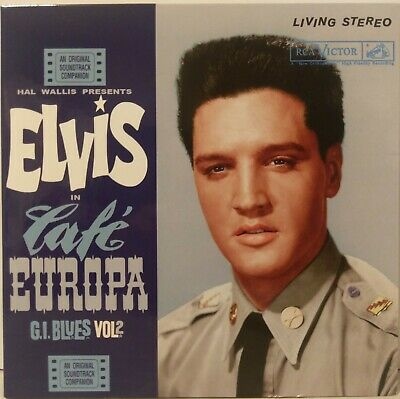 "Elvis Presley ""Ftd"" G.i. Blues Cafe' Europa Vol. 2 Living Stereo 2 X Cd Set Book"
