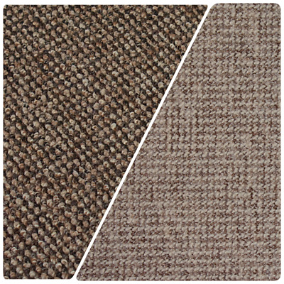 CHUNKY Thick SUPREME Felt Back Berber Loop Pile 4m Wide Carpet £6.99m²