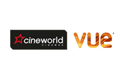 Standard Cinema ticket electronic codes Cineworld or Vue, valid end of 21 Jul