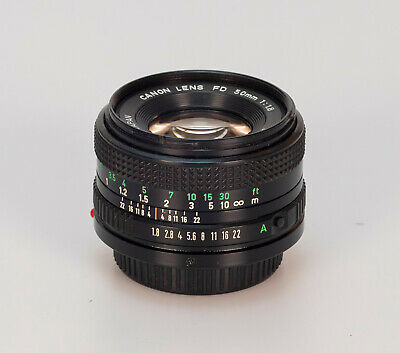 Canon new FD 50mm 1.8 N // Sn:8387518