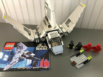 Lego Star Wars Episode IV-VI Imperial Shuttle #7166 w/ Minifigures 100% Complete