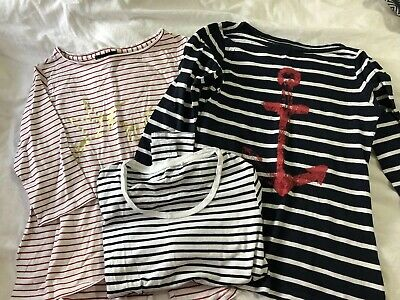 X3 Ladies Stripped Tops Size S Hatley, Forever new And Danni Minogue