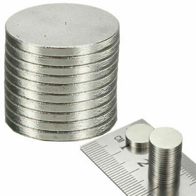20 x 10.1mm Universal Use Disc Magnets Neodymium N50 Grade Craft Essential Parts