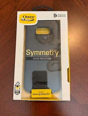 OtterBox Symmetry Samsung Galaxy S8+ Plus Shockproof Hard Snap Cover Case Black