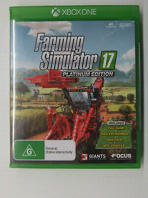 Xbox One Farming Simulator 17 Platinum Edition Edition New Not Sealed