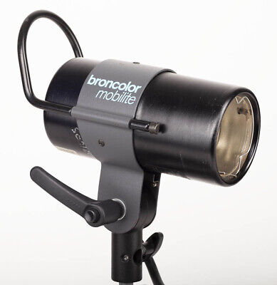 Broncolor Mobilite 1600 J Flash Lamp Head / For Mobil Battery Packs