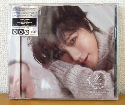 SUPER JUNIOR YESUNG STORY First Limited Edition CD+DVD+Photocard Japan K-POP