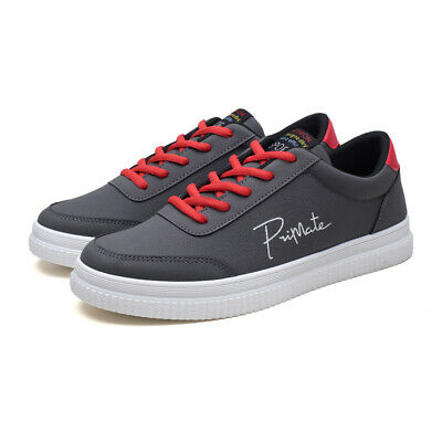 b96ddf857 Mens Athletic Sneakers Casual Outdoor Sports Shoes Students Board Shoes  Antiskid
